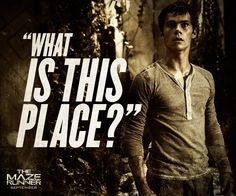 There is only one way to find out. Run. #TheMazeRunner