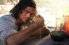 Photo gallery featuring images from the show for Black Sails, a STARZ Original Series. Black Sails Actors, Starz Series, Tv Series, Luke Arnold, Black Sails Starz, Charles Vane, Tom Hopper, Pirate Adventure, Pirate Life