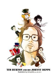 Tim Burton and his Johnny Depp by amoykid on DeviantArt