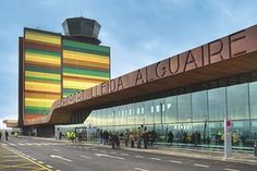 l'aéroport de Lleida-Alguaire, Lleida, Spainfd