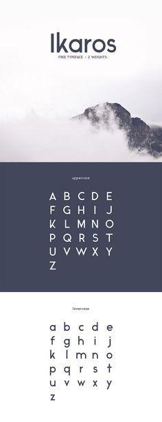 I like the Ikaros font