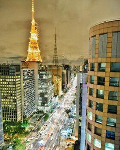 Avenida Paulista by @roodsburger #saopaulocity #avenidapaulista