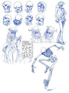 "fifithemantis: "" anatoref: "" Skeletons Row 1 Row Left, Right Row 3 Row 4 "" woa so many boyfriend "" Skeleton Drawings, Skeleton Art, Human Anatomy Drawing, Anatomy Art, Cartoon Drawings, Art Drawings, Drawing Projects, Art Poses, Horror Art"