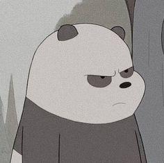 Cute Panda Wallpaper, Cartoon Wallpaper Iphone, Bear Wallpaper, Cute Disney Wallpaper, Cute Cartoon Wallpapers, Ice Bear We Bare Bears, We Bear, Panda Icon, We Bare Bears Wallpapers