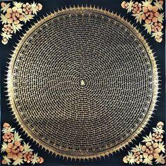 Mandalas & More– Artoftibet Om Mantra, Mahayana Buddhism, Thangka Painting, Wheel Of Life, Tibetan Art, Taoism, Hand Painted Canvas, Original Paintings, Instagram