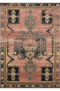 Our Amara Transitional Rug is crafted from polypropylene by skillful masters from Turkey, this Persian inspired rug features a distressed medallion centre surrounded by geometric figures and botanical accent.It is detailed with faded ensembl. Large Rugs, Small Rugs, Transitional Rugs, Construction Design, Displaying Collections, Rectangular Rugs, Border Design, Rugs Online, Power Loom