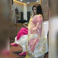 Punjabi suits 8968922443 Customise size and color Shipping worldwide✈ For booking WhatsApp or call at 8968922443 Punjabi Suits Party Wear, Punjabi Salwar Suits, Designer Punjabi Suits, Indian Designer Wear, Salwar Kameez, Patiala Suit Designs, Salwar Designs, Kurti Designs Party Wear, Blouse Designs