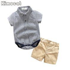$13.80 (Buy here: https://alitems.com/g/1e8d114494ebda23ff8b16525dc3e8/?i=5&ulp=https%3A%2F%2Fwww.aliexpress.com%2Fitem%2FKimocat-Brand-Baby-Boy-Clothes-2-Pcs-Infant-Jumpsuit-Short-Sleeve-Summer-Baby-Clothing-Set-Summer%2F32803240447.html ) Kimocat Brand Baby Boy Clothes 2 Pcs Infant Jumpsuit Short Sleeve Summer Baby Clothing Set Summer Boy for just $13.80
