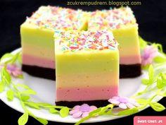 ciasto Optymisty - Swiatciast.pl Sweets Cake, Cookie Desserts, Cookie Recipes, Dessert Recipes, Vegan Junk Food, Layered Desserts, Vegan Kitchen, Polish Recipes, Pastry Cake