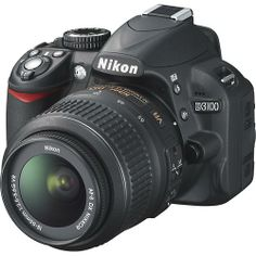 Nikkon D3100 DSLR Camera with 18-55mm VR Lens.  I have to buy.