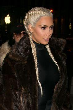 Kim Kardashian Boxer Braids (Trança de Boxeadora)