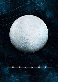 Uranus by Alexander Pohl Cosmos, Planets Wallpaper, Galaxy Wallpaper, Space Planets, Space And Astronomy, Interstellar, Constellations, Home Bild, Uranus