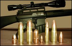 The .458 SOCOM Advanced Weapons System offers the operator a weapons platform with unsurpassed flexibility in projecting heavy firepower using a wide array of projectiles, depending on operational requirements. It allows the user the ability to choose from the following options by simply changing the type of ammunition used: