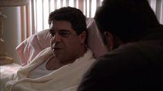 The Sopranos: Season 1, Episode 11 Nobody Knows Anything (21 Mar. 1999) Vincent Pastore , Salvatore 'Big Pussy' Bonpensiero, James Gandolfini , Tony Soprano