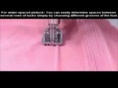 Janome Nervür Dikiş Ayağı | Pile Dikme İşlemi | Ayak Nasıl Kullanılır - YouTube Janome, Positive Words, Sewing Techniques, Couture, Machine Embroidery, Doll Clothes, Singer, Plastic Canvas, Stitching