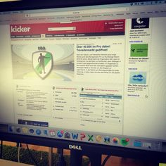 What does Team Tickaroo do when we aren't 100% focused on our work? Managing our @kicker Managerspiel teams! Form your league and create your team today! #kicker #fantasysoccer #manager #managerspiel #soccer #bundesliga #football #fantasyleague #work #play #tickaroo #partners