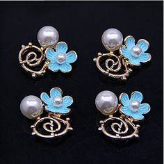 Find More Charms Information about New Arrived Pearls decoration Alloy drop oil gold plated Openwork metal flowers jewelry charms diy earring/necklace pendants,High Quality charm pendants,China charms to make jewelry Suppliers, Cheap pendant china from multicolor kingdom on Aliexpress.com