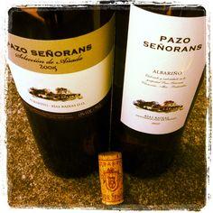 Pazo Señorans Selección de Añada 2005 y Pazo Señorans 2011 Wines, Red Wine, Alcoholic Drinks, Canning, Bottle, Glass, Spain, Food, Wine Cellars