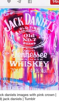 Jack Daniels watercolor