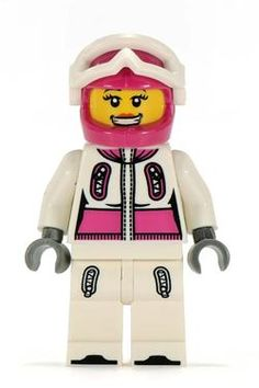 Minifigures Serie 3 - Snowboarder