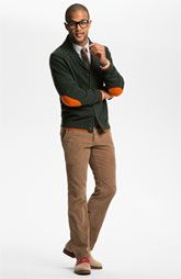 Mens Fashion Corduroy Pants