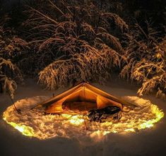 This looks like a great spot to camp out!