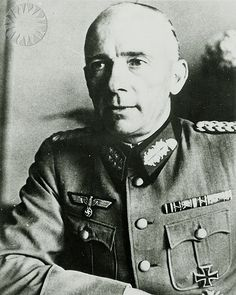 Informal portrait of Wehrmacht (Army) Major Walter Robert Dornberger, head of the Peenemuende rocket research center, in uniform as a Major General of the German Army. Dornberger was the military chief of the production of the V-2 rocket, and was brought to the United States after the end of the war. Credit: unknown (Smithsonian Institution).