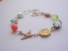 Serendipity. Romantic Original Bracelet by blushingpixie on Etsy, $27.00
