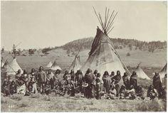 Lemhi Shoshone and Salish (Flathead), 1870