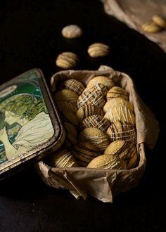 Cómo Hacer Galletas de Mantequilla © ¡¡La Receta más Fácil del Mundo!! Rustic Food Photography, Christmas 2019, Stuffed Mushrooms, Deserts, Chocolate, Vegetables, Recipes, The World, Desert Recipes
