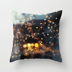 Let's Get Lost Throw Pillow by Chelsea Victoria - $20.00 Chelsea Victoria, Lets Get Lost, Photo Pillows, Cover Photos, Holiday, Christmas, Pillow Covers, Diy Crafts, Throw Pillows