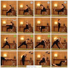 printable stretching guides royalty free  senior fitness