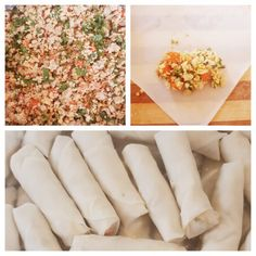 Chicken Springroll recipe by Sabiha Y Kaba posted on 10 Apr 2019 . Recipe has a rating of by 1 members and the recipe belongs in the Savouries, Sauces, Ramadhaan, Eid recipes category Halal Recipes, Indian Food Recipes, Real Food Recipes, Chicken Recipes, Yummy Food, How To Cook Mince, Eid Food, Chicken Spices, Clarified Butter