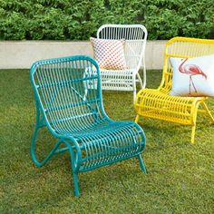Weekender chairs by Freedom from @Mary Powers Powers Powers Beth Parker Out magazine on Facebook.