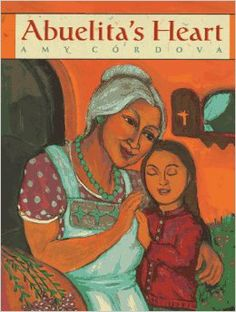 """It is by reaching out to one another that we, too, create something beautiful to last throughout the ages.  No matter where life leads you, Corazoncito mio, if you follow the heart your path will be one of wonder.""  LOVE this book.  Abuelita's Heart by Amy Cordova."