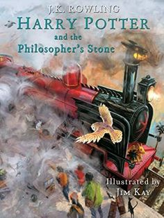 [Kindle] Harry Potter and the Philosopher's Stone: Illustrated [Kindle in Motion] (Illustrated Harry Potter Book Author J. Rowling and Jim Kay, Rowling Harry Potter, Harry Potter Books, Garri Potter, Philosophers Stone, Banner, The Sorcerer's Stone, Fan Art, Got Books, Book Photography
