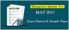 MBAUniverse: MAT Exam Pattern 2017– Check here Sample/Previous ...