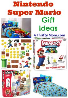 Nintendo Super Mario Gift Ideas