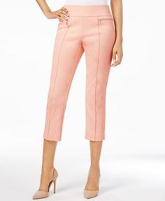 Style & Co Pull-On Capri Pants, Only at Macy's   macys.com