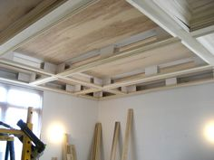 A Coffered Ceiling & Media Room | THISisCarpentry
