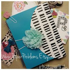 H E Y  Y O U   Looking for protection, but not bulk? Have lots in your planner & like to keep it in there? Have you seen the original Polypro Wrap Covers yet? Lots of color choices, customization options & planner bling too! Or just clear so you can see your NEW cover right thru! Spirals, discs, big, small... No planner discrimination here!!! www.PaperProblems.etsy.com Summer Collection has been released! xoxo http://www.etsy.com/listing/235683263/new-summer-collection-mixmatch-azul-blue
