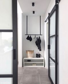 Merci beaucoup for showing your beautiful hallway! Home Design Decor, Interior Design Living Room, House Design, Home Decor, Hallway Inspiration, Interior Inspiration, Minimal Home, Entry Hallway, Scandinavian Interior