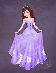 older princess sofia - Disney