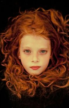 Come on already! The green eyes! Loads of wavy red hair. Lovely. Just lovely!