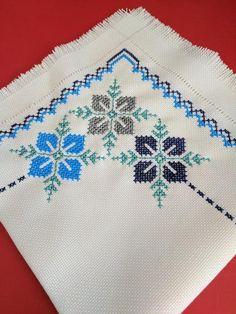 Cross Stitch Boarders, Cross Stitch Art, Cross Stitch Flowers, Cross Stitch Designs, Cross Stitching, Cross Stitch Patterns, Hand Embroidery Stitches, Crochet Stitches Patterns, Hand Embroidery Designs