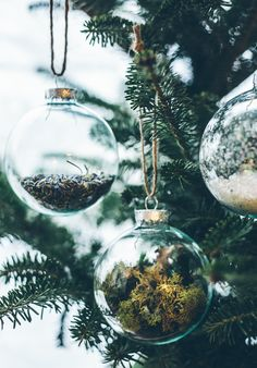 "The simplest DIY ever done, so simple it may not even earn the title ""DIY"" but here it goes..Supplies:Empty Holiday Ball Ornaments (definitely get plastic, not"