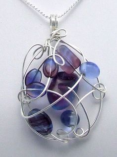 jewelry wire, wired pendants, wire jewelry ideas, jewel pendant necklace, pendant ideas, craft wire jewelry, wire pendant, necklaces ideas, pendants diy
