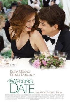 The Wedding Date is an 2005 American romantic comedy film directed by Clare Kilner and starring Debra Messing, Dermot Mulroney, and Amy Adams. Based on the novel Asking for Trouble by Elizabeth Young, the film is about a single woman who hires a male escort to pose as her boyfriend at her sister's wedding in order to dupe her ex-fiancé, who dumped her a few years prior.