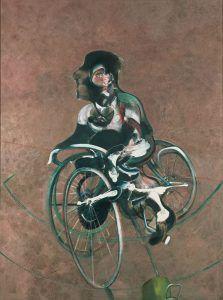 Portrait de George Dyer à bicyclette - Francis Bacon