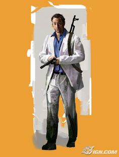 """nick from left 4 dead 2! """"come on coach, maybe the helicopter's made of chocolate. heh heh heh."""
